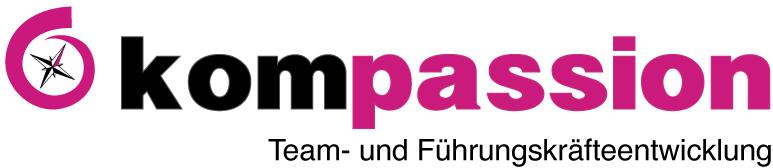 Das Logo der Firma von Jeanette Deloch kompassion Team- und Führungskräfteentwicklung